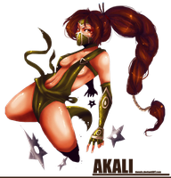 Akali by Donnis