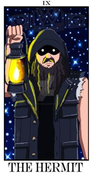 Major Arcana IX - The Hermit by threatningroar