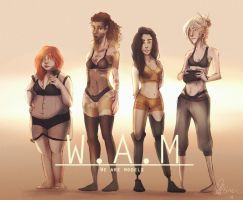 W.A.M - project by WanderingLola