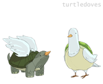 2 Turtledoves by doxycide