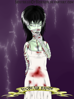 Undead Bride by MistressOfHorror