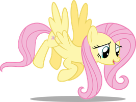 Fluttershy Flying by Soren-the-Owl