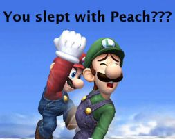 You slept with Peach?? by Masterluigi452