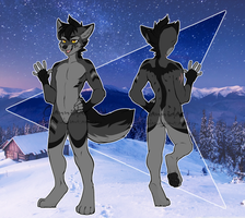 .: Tribal Anthro Wolf Adoptable :. [CLOSED] by Cannidae