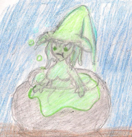 Slime Witch by ToxicWyvern