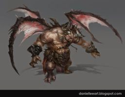 Monster Concept By Daniellee by Danielllee