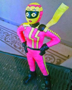 Pink Lemonade statuette by CagsCreations