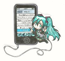 Miku's Playlist by AshNee-chan