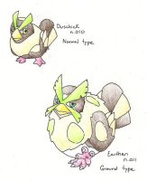 Hen Pokemons by HeavyMetalManga
