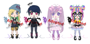 Random Adopts Set 5 (CLOSED) by Oh-My-Stars
