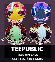 .:TEEPUBLIC: SHOP ON SALE!:. by BritishMindslave