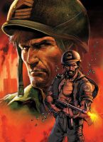 Sgt Rock by Jubran