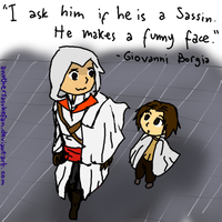 Francesco, the Sassin by AnotherSasukeFan