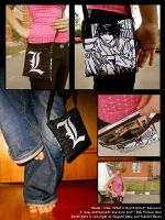 153 : Death Note : L Bag by witegots