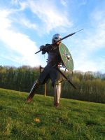 Steady Rohirrim Warrior - Rohan by Carancerth