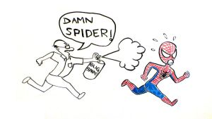 Spidey's Predicament by harshadpd