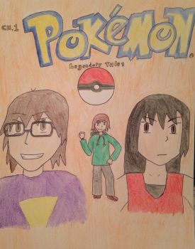 Pokemon Legendary Tales- Chapter1 Cover by TheOstrichKing