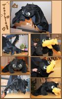 Toothless Plush by bandeau