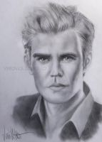 Stefan Salvatore by verkoka
