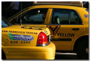 Yellow Cabs by fl8us