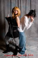 Death Note Misa chained 2 L by icevalkyrie7