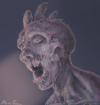 Surprise Zombie by F33R-the-B33R