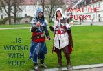 Assassins Creed - Olditore and Auditore by LadyBad