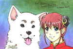 Kagura and Sadaharu for Ana by Shel-chan