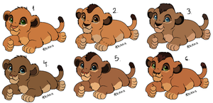 Cub adopts (OPEN) by Lummiki