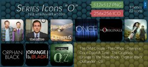 TV Series Icons O by g-Vita