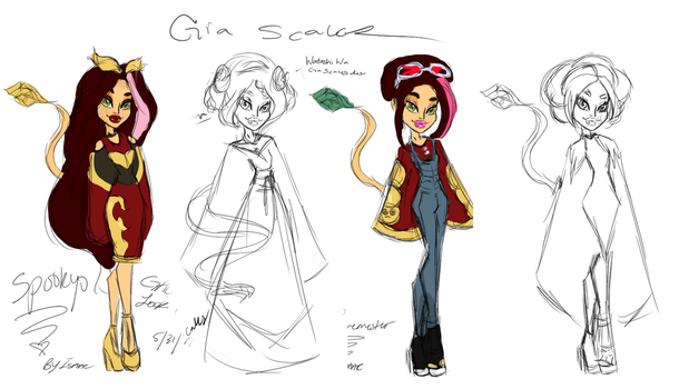 Gia Scales Concepts by isaacel