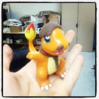 Charmander + Geraldo Rivera by youskaremi