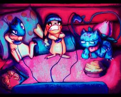 Pals in Gaming Night by Ravaqui