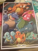 Pokemon Generation 1 Poster by Blackwind06