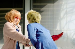 Beyond the Boundary - Bloody sword by Himeyu