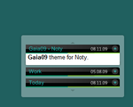 Gaia09 theme for Noty by Idered