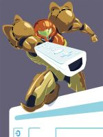 Samus Wii Advertisement by PreyingDantis