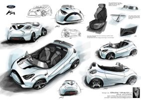 Ford Ka Concept by Slavche
