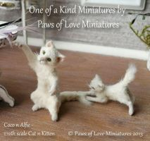 coco and alfie by mary anderson by MAMiniatures