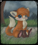 .its.just.the.rain by foxicle