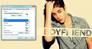 Justin Bieber | Cursor 001 by AlmostHeaveen