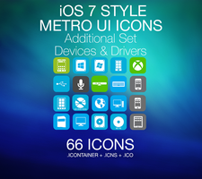iOS 7 Style - Metro UI - Devices and Drivers by PhusixNinja