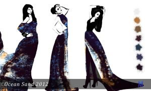 Ocean Sand 2012 (evening dresses) by Marsha-Veliguro