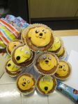 Adventure Time Lemongrab And Jake Rainbow Cupcakes by PossumPip-Creations