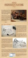 Tutorial : Digital Painting in Photoshop by lilis-gallery