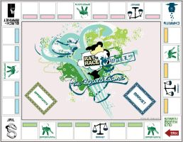 Rat Race Game Board by frankhong