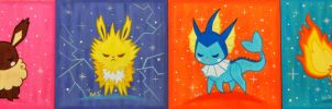 Original Eeveelutions by fuish