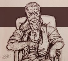 Revolver Ocelot by ReaperClamp