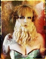 Carnival: The Bearded Lady by NightshadeBeauty