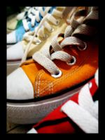 Chuck Taylors by osher19